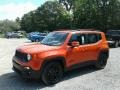 2018 Omaha Orange Jeep Renegade Altitude  photo #1