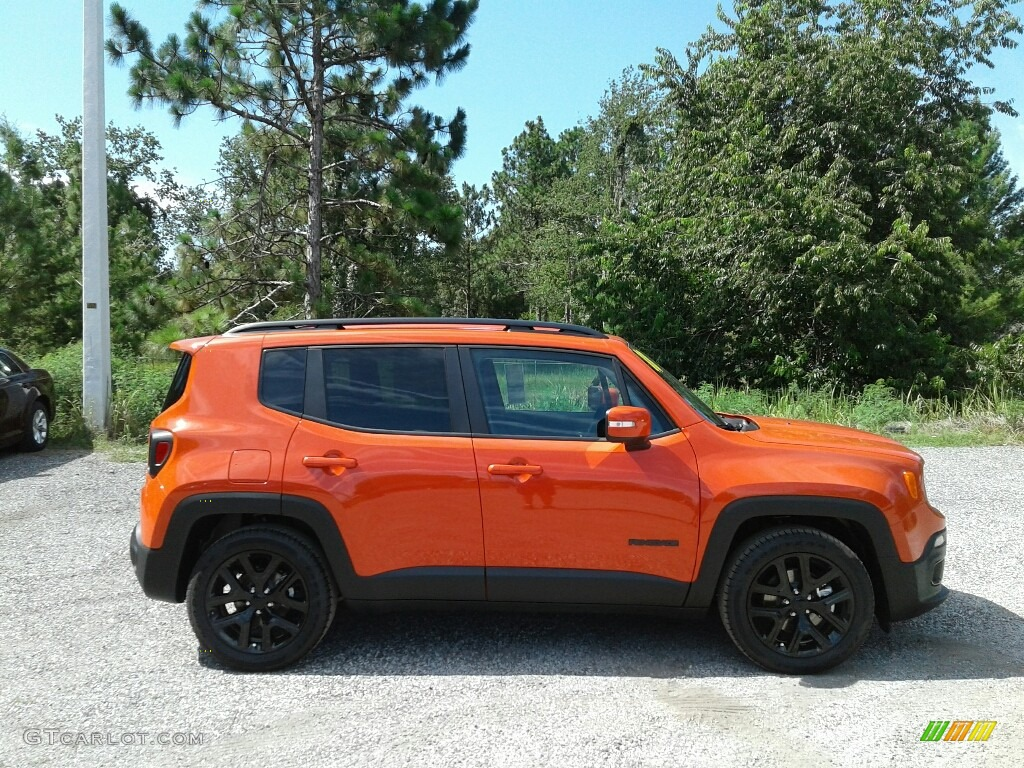 2018 Renegade Altitude - Omaha Orange / Black photo #6