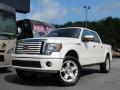 White Platinum Metallic Tri-Coat 2011 Ford F150 Limited SuperCrew 4x4