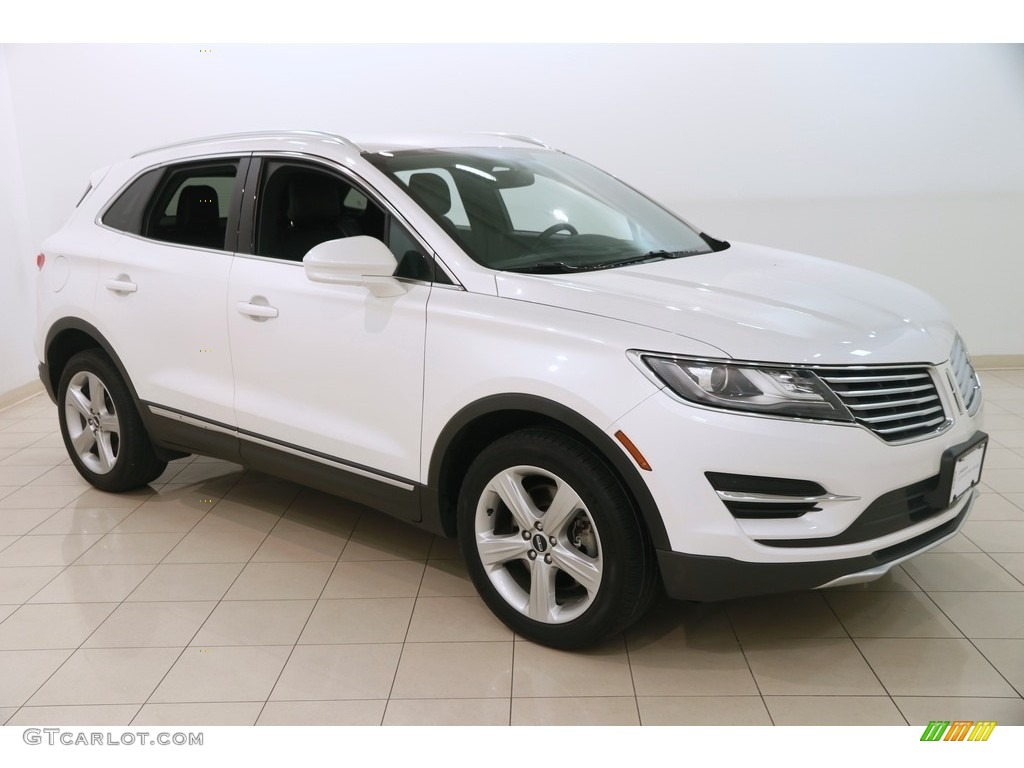 2015 MKC AWD - White Platinum Metallic Tri-coat / Ebony photo #1