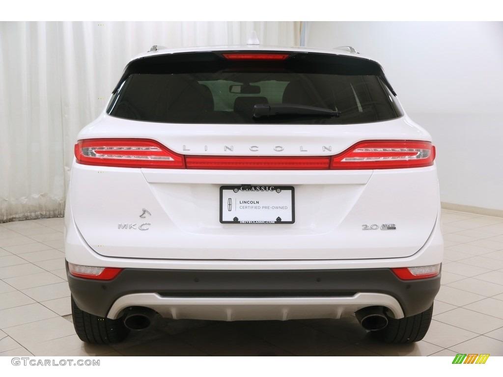 2015 MKC AWD - White Platinum Metallic Tri-coat / Ebony photo #21