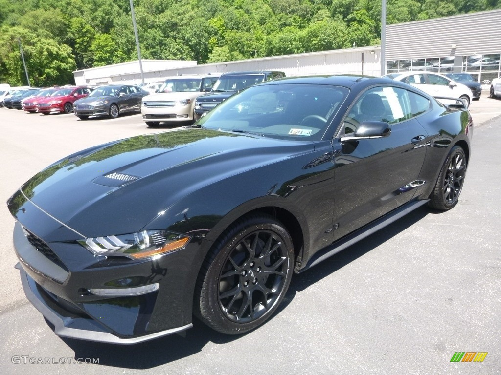 2018 Mustang EcoBoost Fastback - Shadow Black / Ebony photo #5