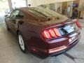 2018 Royal Crimson Ford Mustang EcoBoost Fastback  photo #3