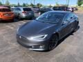 2016 Model S P100D Midnight Silver Metallic
