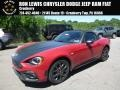Rosso Red 2018 Fiat 124 Spider Abarth Roadster