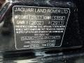 2018 XJ R-Sport AWD Narvik Black Color Code PEC