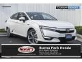 Platinum White Pearl - Clarity Plug In Hybrid Photo No. 1