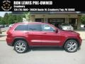 Deep Cherry Red Crystal Pearl 2013 Jeep Grand Cherokee Laredo 4x4