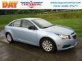 Ice Blue Metallic 2011 Chevrolet Cruze LS