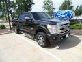 2014 Tuxedo Black Metallic Ford F250 Super Duty Lariat Crew Cab 4x4 #127836115