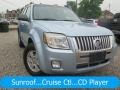 Light Ice Blue Metallic 2008 Mercury Mariner V6 4WD