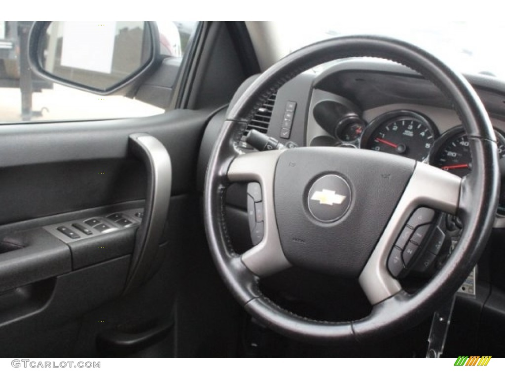 2013 Silverado 1500 LT Extended Cab 4x4 - Deep Ruby Metallic / Ebony photo #24