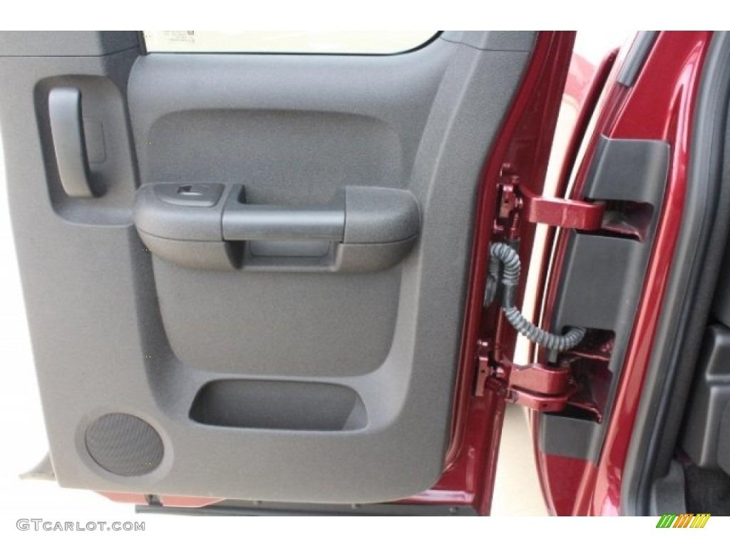2013 Silverado 1500 LT Extended Cab 4x4 - Deep Ruby Metallic / Ebony photo #26