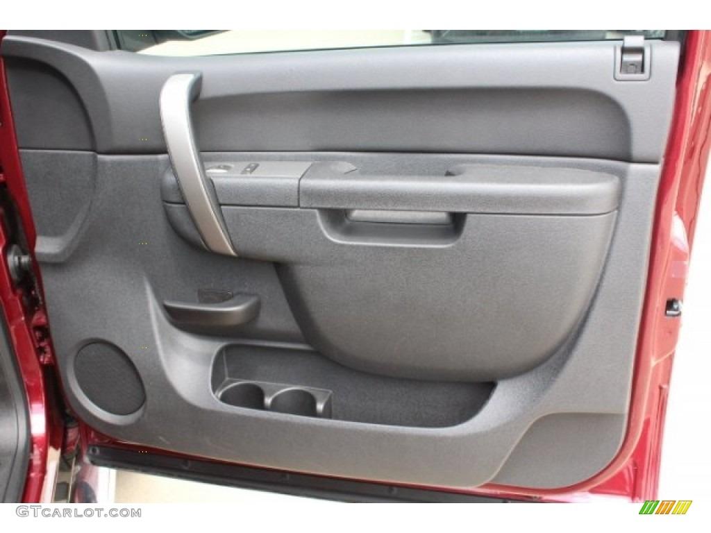 2013 Silverado 1500 LT Extended Cab 4x4 - Deep Ruby Metallic / Ebony photo #28