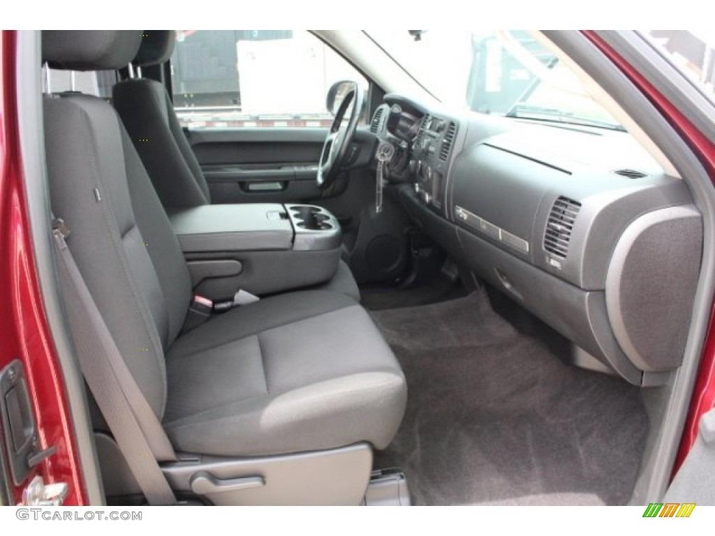 2013 Silverado 1500 LT Extended Cab 4x4 - Deep Ruby Metallic / Ebony photo #30