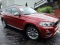 Flamenco Red Metallic 2017 BMW X6 xDrive35i