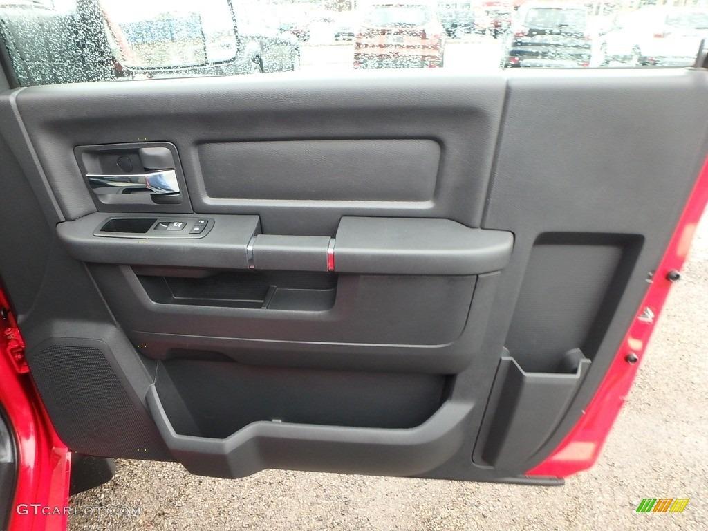 2012 Ram 1500 ST Regular Cab 4x4 - Flame Red / Dark Slate Gray/Medium Graystone photo #4
