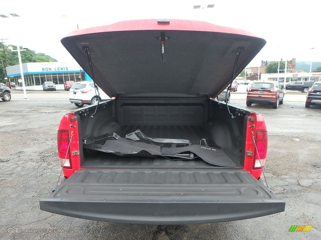 2012 Ram 1500 ST Regular Cab 4x4 - Flame Red / Dark Slate Gray/Medium Graystone photo #7