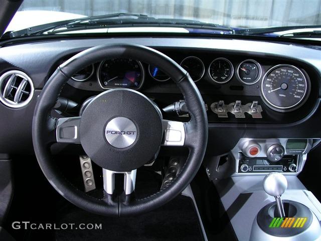 Ford Gt Standard Gt Model Ebony Black Dashboard Photo