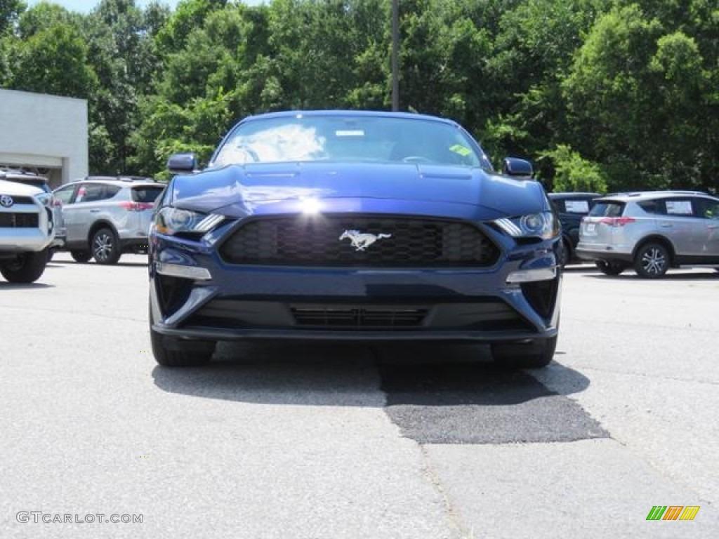 2018 Mustang EcoBoost Fastback - Kona Blue / Ebony photo #2