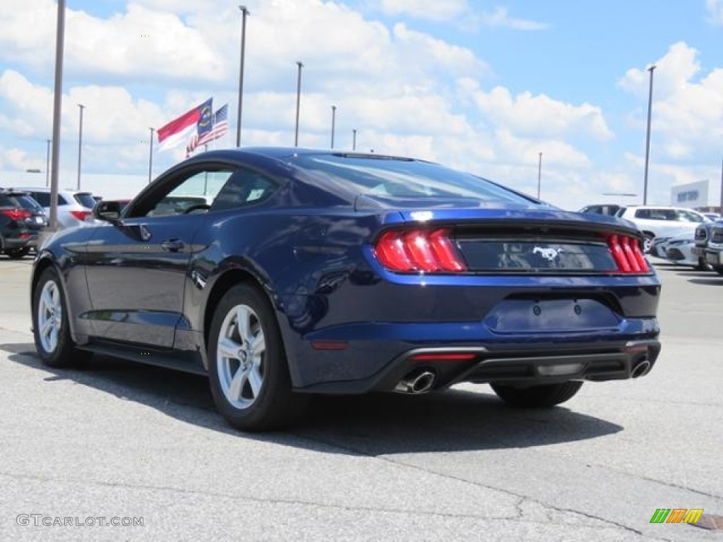 2018 Mustang EcoBoost Fastback - Kona Blue / Ebony photo #23