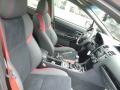 Carbon Black Front Seat Photo for 2018 Subaru WRX #127915180