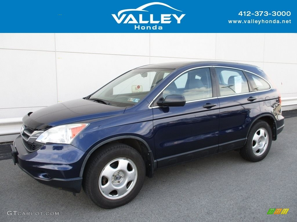 2010 CR-V LX AWD - Royal Blue Pearl / Gray photo #1
