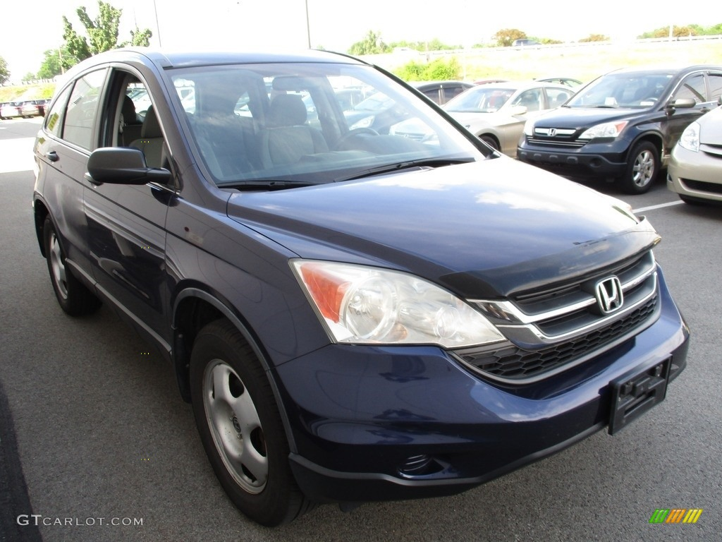 2010 CR-V LX AWD - Royal Blue Pearl / Gray photo #6