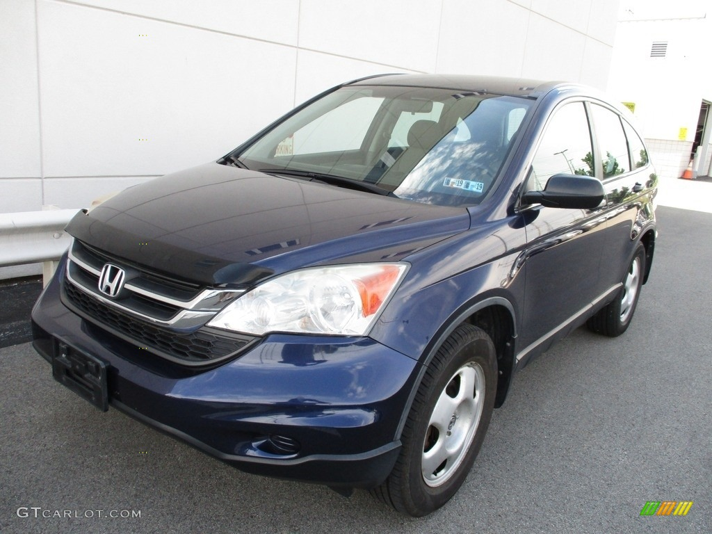 2010 CR-V LX AWD - Royal Blue Pearl / Gray photo #8