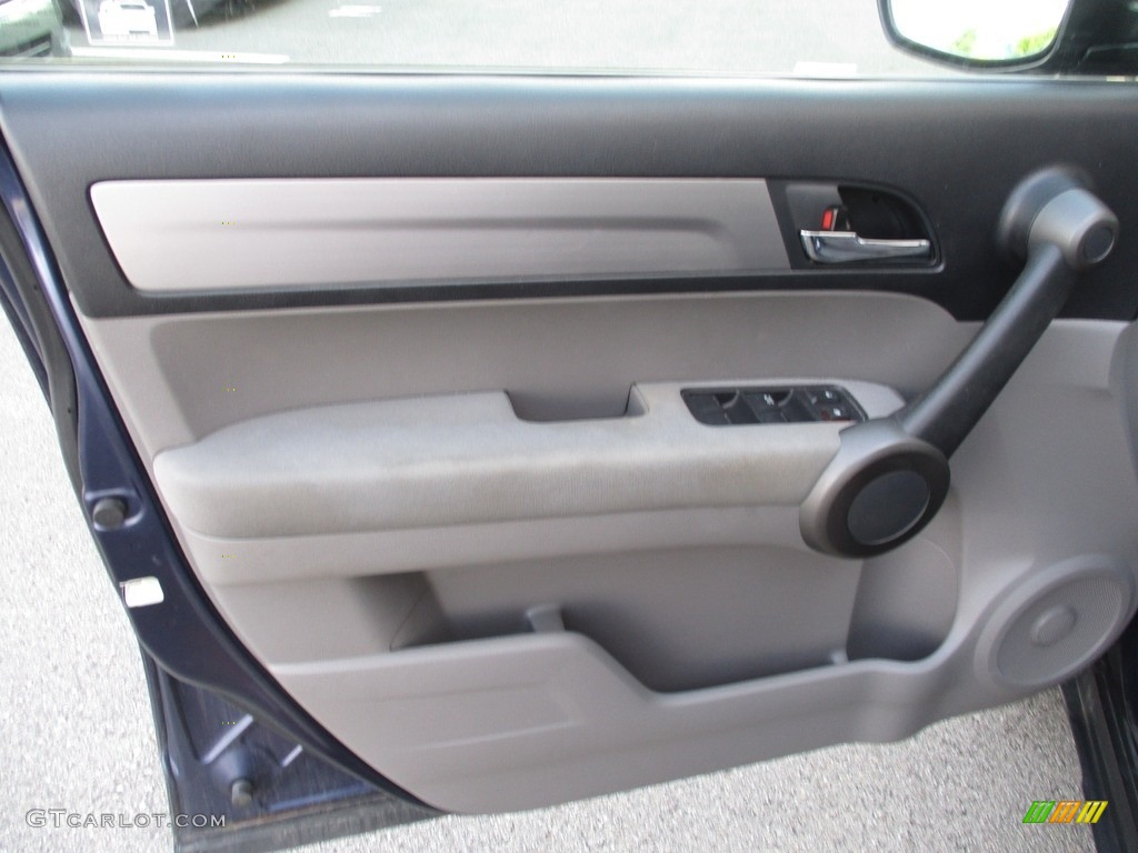 2010 CR-V LX AWD - Royal Blue Pearl / Gray photo #9