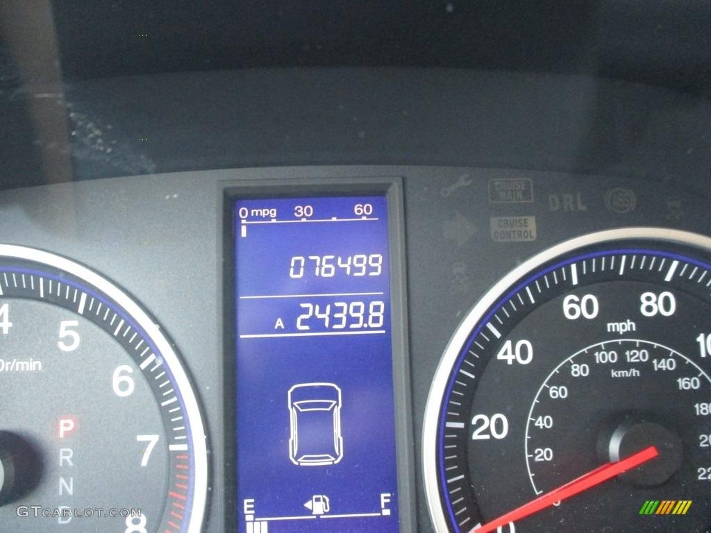 2010 CR-V LX AWD - Royal Blue Pearl / Gray photo #20