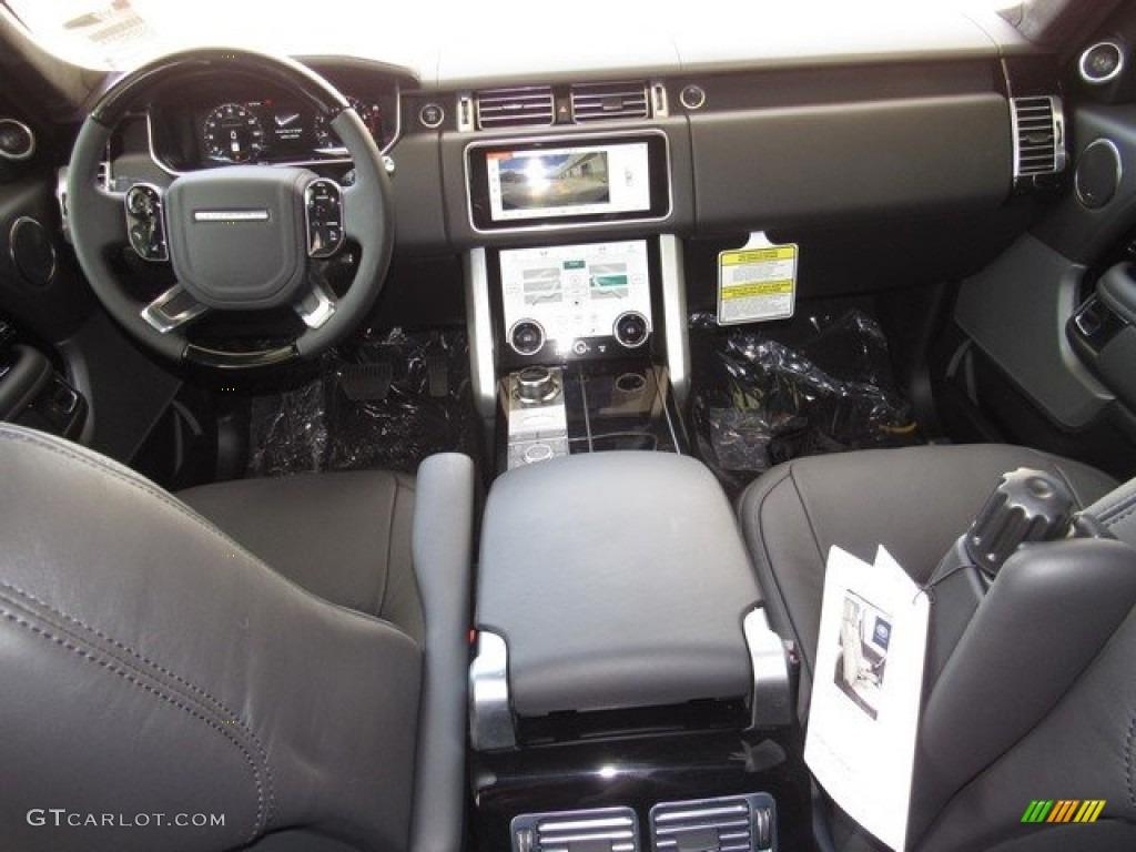 2018 Range Rover Supercharged - Yulong White Metallic / Ebony photo #4