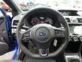 Carbon Black Steering Wheel Photo for 2018 Subaru WRX #127928905
