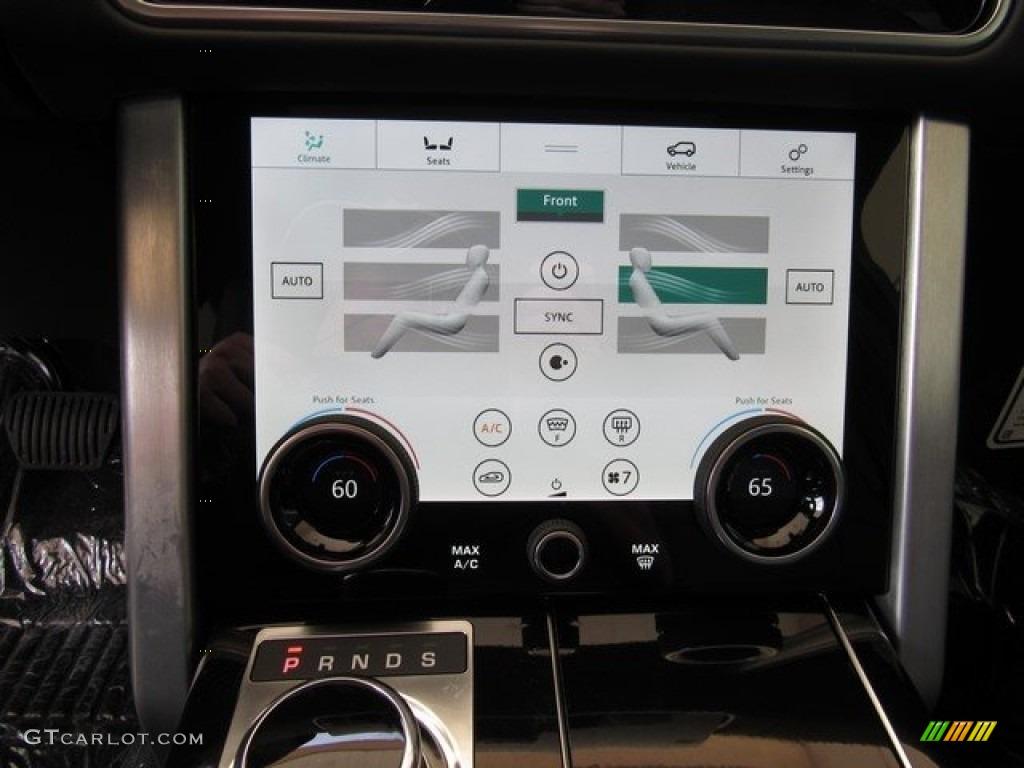 2018 Range Rover Supercharged - Yulong White Metallic / Ebony photo #37