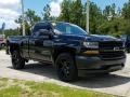 2018 Black Chevrolet Silverado 1500 WT Regular Cab  photo #7