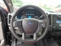 Earth Gray Steering Wheel Photo for 2018 Ford F350 Super Duty #127953791