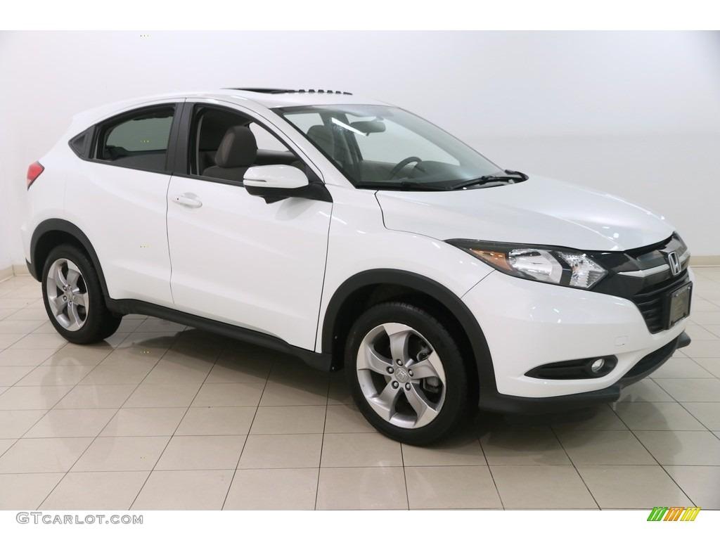 White Orchid Pearl Honda Hr V
