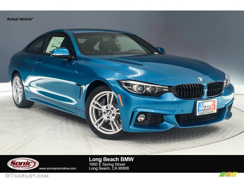 2019 snapper rocks blue metallic bmw 4 series 430i coupe  128000679