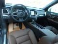 2019 XC90 T6 AWD Momentum Maroon Interior
