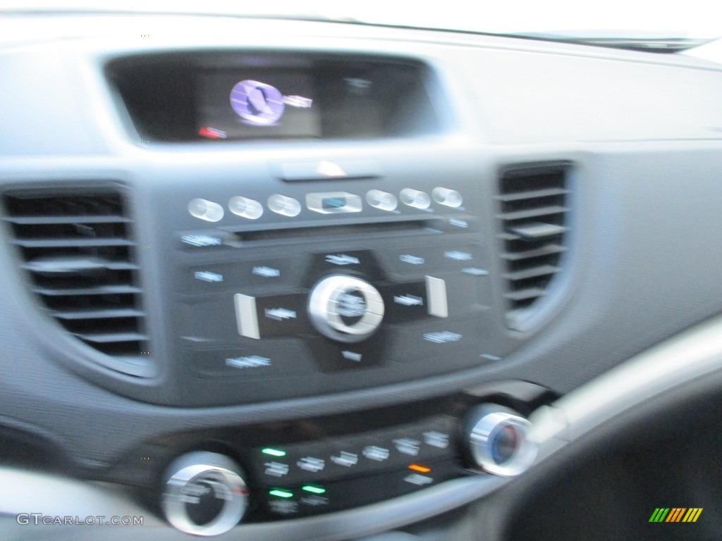 2015 CR-V LX AWD - Basque Red Pearl II / Gray photo #15