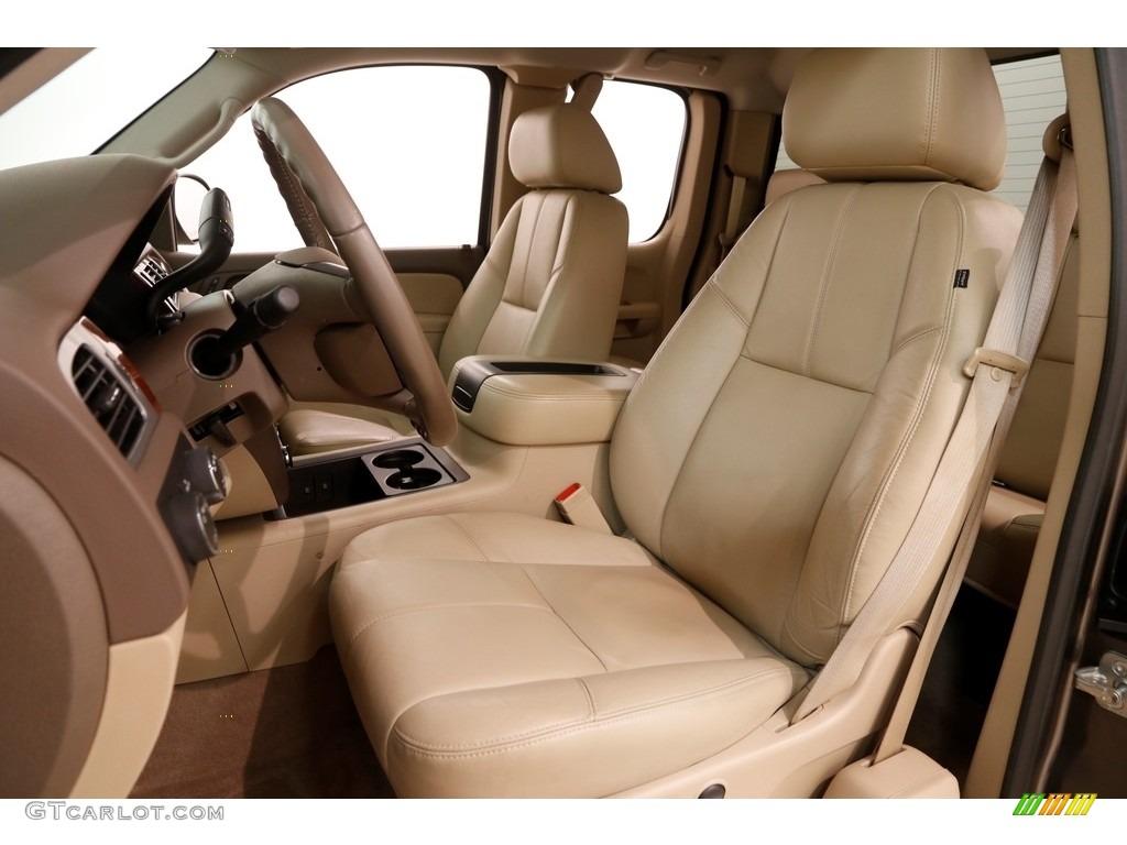 2012 Silverado 1500 LTZ Extended Cab 4x4 - Mocha Steel Metallic / Light Cashmere/Dark Cashmere photo #6