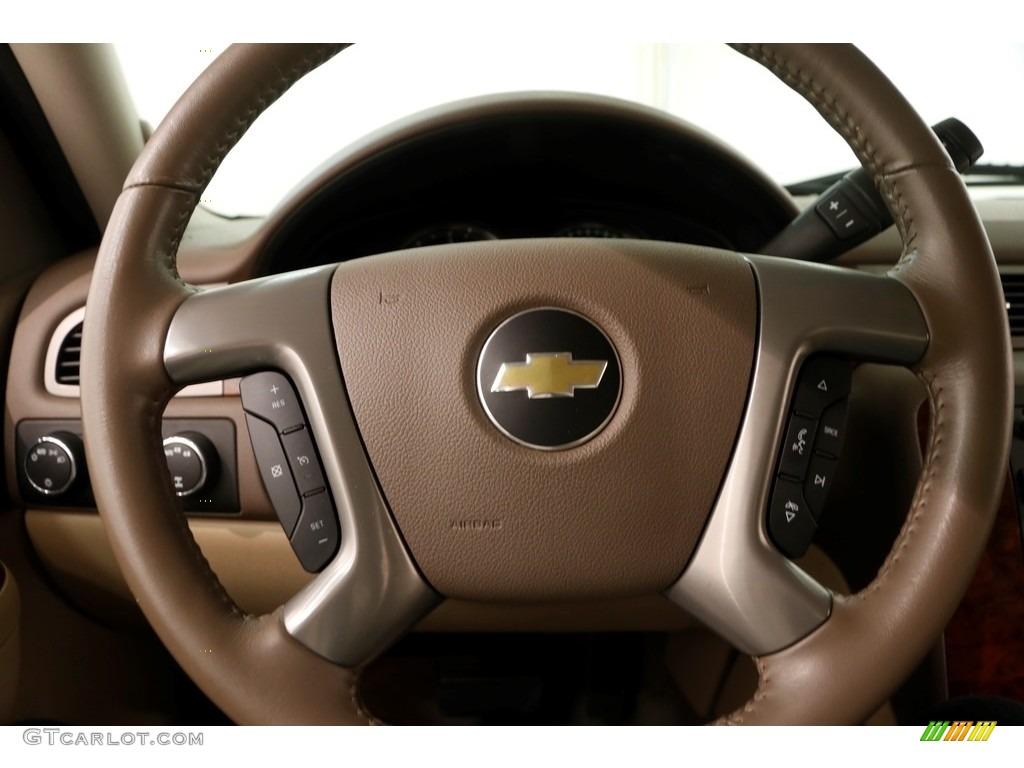 2012 Silverado 1500 LTZ Extended Cab 4x4 - Mocha Steel Metallic / Light Cashmere/Dark Cashmere photo #7