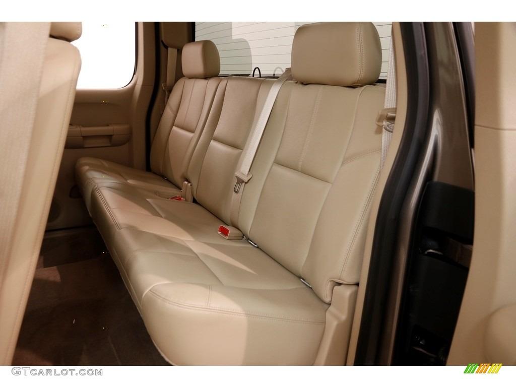 2012 Silverado 1500 LTZ Extended Cab 4x4 - Mocha Steel Metallic / Light Cashmere/Dark Cashmere photo #14