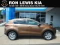 Burnished Copper 2019 Kia Sportage LX AWD