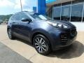 Front 3/4 View of 2019 Sportage EX AWD