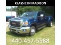 Stone Blue Metallic 2019 GMC Sierra 3500HD SLT Crew Cab 4WD Dual Rear Wheel