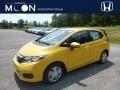 Helios Yellow Pearl 2019 Honda Fit LX