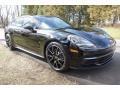 Black 2018 Porsche Panamera 4 Sport Turismo