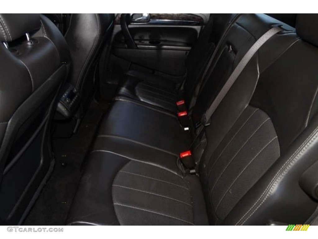 2015 Enclave Leather - Carbon Black Metallic / Ebony/Ebony photo #4