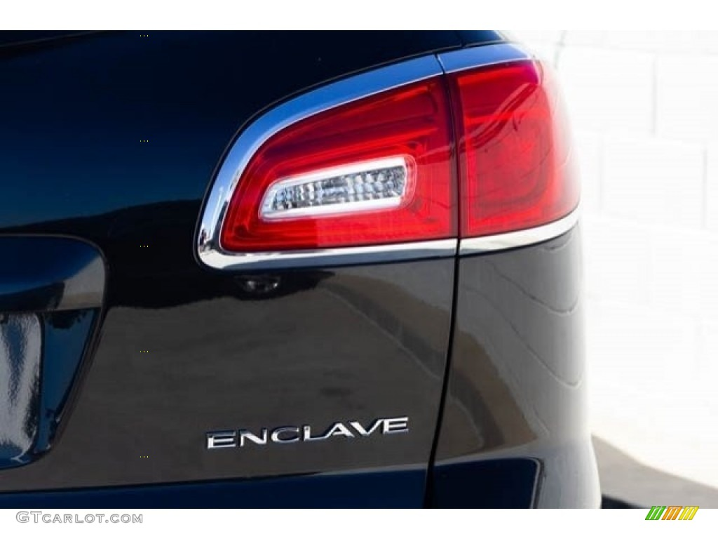 2015 Enclave Leather - Carbon Black Metallic / Ebony/Ebony photo #12